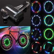 Fashion PC <b>LED Bike Spoke Lights</b> Waterproof PC <b>Cool Bicycle</b> ...