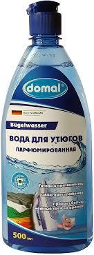 <b>Вода для утюгов Domal</b>, парфюмированная, с антистатическим ...