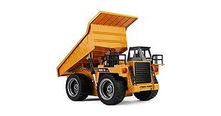 <b>HUINA</b> 1540 1:18 2.4GHz <b>6CH</b> RC Alloy Dump Truck: Buy Online at ...