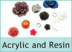 ACRYLIC and <b>RESIN BEADS</b>