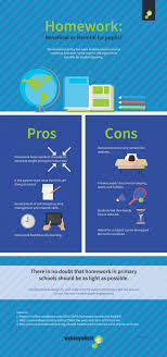 pros and cons of homework infographic e learning infographics