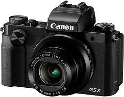 Купить Цифровой <b>фотоаппарат Canon PowerShot G5</b> X черный в ...