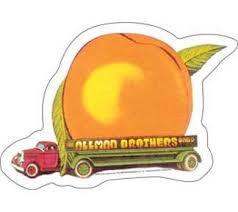 <b>Allman Brothers Band Eat</b> a Peach Sticker - Sunshine Daydream