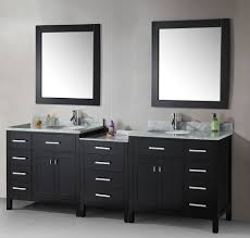 sink brilliant bathroom vanity mirrors decoration black wall