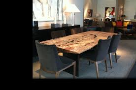 wood slab dining table beautiful: clic reclaimed wood dining room table darling and daisy