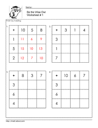 Your Kids Will Learn Math and Have Fun With These Addition Square ...Your Kids Will Learn Math and Have Fun With These Addition Square Worksheets | Worksheets, Learn Math and Have Fun