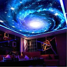 hwhz <b>Custom 3D</b> Photo <b>Wallpaper</b> Galaxy <b>Star</b> Ceiling Fresco Wall ...