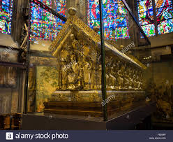 stock photo the shrine of charlemagne in the aachen aix la chapelle cathedral aix la chapelle cathedral