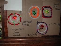 a blessed homeschool life weekly wrap up chemistry the kids then made a periodic table shadow box elements or things made out of elements that they found around the house