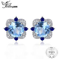 2019 <b>JewelryPalace Fashion Stud Earrings</b> 2.27ct Round Natural ...