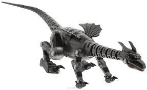 <b>Junfa Toys Игрушка</b> на радиоуправлении Дракон цвет стальной ...