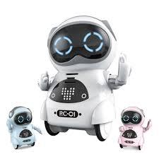 Карманный интерактивный <b>робот Jiabaile</b> JIA-939A – купить в ...