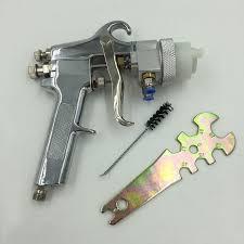 2019 <b>SAT1182</b> Silver Chrome Spray Paint Pistola De Pintura Air ...