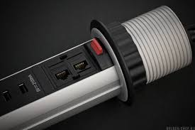 <b>Удлинитель Brennenstuhl Tower Power</b> (2 м., 3 роз., 2 USB, IP20 ...