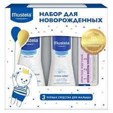 Набор для новорожденного с гелем, молочком и кремом под ...