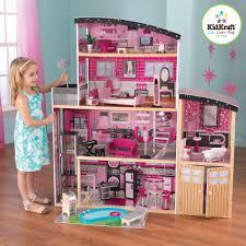 kidkraft sparkle mansion dollhouse toys games dolls accessories dollhouses playsets dreamz bathroom dollhouse