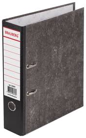 <b>BRAUBERG Папка</b>-<b>регистратор А4</b> с мраморным покрытием, 80 мм