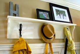 ideas wall shelf hooks:  images about entryway ideas on pinterest entry ways metal walls and entryway