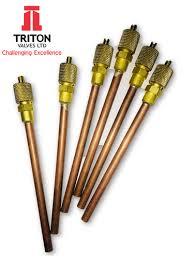Triton <b>Refrigerant</b> Charging <b>Valve</b>/Access <b>Valve</b>, <b>Size</b>: Copper Tube ...