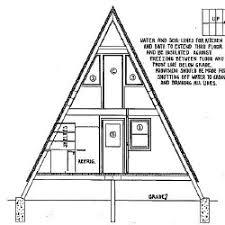 A Frame House Plans   A Frame Floor Plans foot high A Frame House Plans