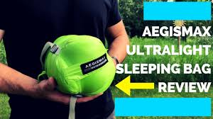 AEGISMAX UL Down <b>Sleeping</b> Bag Review (TESTED) - YouTube