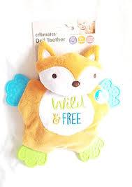 Buy Cribmates Teether Doll Orange and White <b>Wild and Free Fox</b> ...