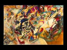 Video: <b>Wassily Kandinsky</b>, <b>Composition</b> VII, 1913, Abstract ...