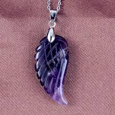 <b>100 Unique 1 Pcs</b> Silver Plated Natural Amethysts Stone Wings of ...