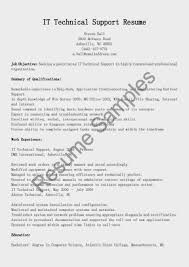 Network Operation Resume Technician