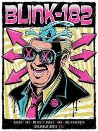 Screen <b>printing</b>, Poster, <b>Blink 182</b>