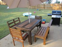 diy plans to make bar table and stool set by wingstoshop patio furniture buy diy patio furniture