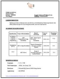 example template of excellent fresher b tech resume sample format with great job profile and resumes format for freshers