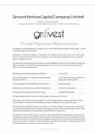 40 private placement memorandum templates word pdf private placement memorandum template 07