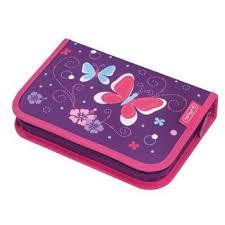 <b>Пенал Herlitz</b> с наполнением Purple <b>Butterfly</b> 31 предмет купить ...