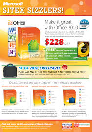 microsoft office 2010 home student professional sitex 2010 price sitex 2010 price list image brochure of microsoft office 2010 home student professional