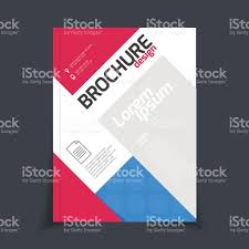 vector brochure template annual report cover design stock vector 1 credit