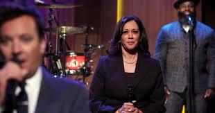 Kamala Harris does Slow Jam the News with Jimmy Fallon on The ...