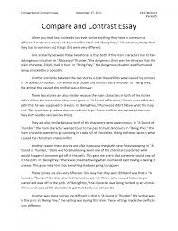 how to write a comparison contrast essay essay topics cover letter contrast and comparison essay example
