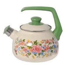 <b>Чайник эмалированный</b> со свистком, <b>2.5</b> л (5182984) - Купить по ...