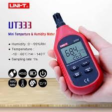 <b>UNI T UT333</b> Мини Измеритель температуры и влажности ...