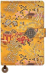 Journal Notebook -A5 College Ruled Chinese Silk ... - Amazon.com