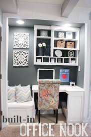 built in office nook great for an apartment or small housereach apartment home office