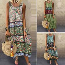 <b>Casual Sleeveless Dresses</b> for Women for sale | eBay