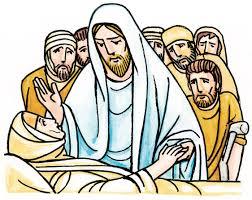 Resultado de imagem para jesus cura a sogra de pedro