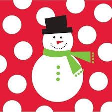"<b>Набор бумажных салфеток</b> ""Snowman Dots"" бренда Creative ..."