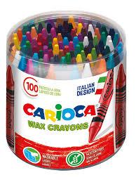 <b>Набор восковых мелков</b> ,100 шт.смываемые. <b>Carioca</b> 7407207 в ...