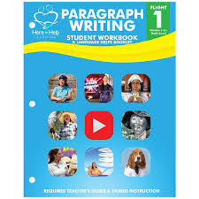 here to help learning store flight 1 paragraph writing student workbook