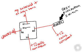 car horn wiring diagram wiring diagram wiring diagram for car horn wire