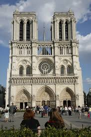 for doing so was that this was a very public act of worship broadcast live both on television and on radio it took place in the cathdrale notre dame cathacdrale de notre dame