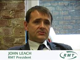 President John Leach explains his role in RMT - preview